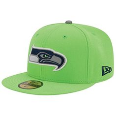 best authentic 4b957 090b1 Amazon.com   New Era Nfl 59fifty Men s Hat Thanksgiving Series Fitted Cap Seattle  Seahawks Green (7 1 2)   Sports   Outdoors