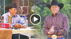 In this short video, go behind the scenes at a Justin Boots photo-shoot featuring the King of Country Music, George Strait.