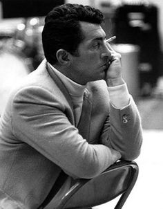 "preppysition: "" Dean Martin in a turtleneck. Great picture. """