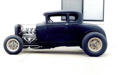 Black Five Window Coupe
