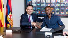 Abidal fue presentado como embajador del Barcelona #Deportes #Fútbol