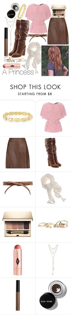 """""""Sincerely Yours: Claire Standish"""" by leonorgomes on Polyvore featuring Signature Gold, Etro, Theory, See by Chloé, Fallon, Pomandère, Clarins, GUESS, Charlotte Tilbury and SUGARFIX by BaubleBar"""