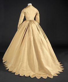 Worth dress ca. 1860-65