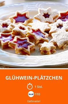 Glühwein-Plätzchen - smarter - Kalorien: 110 kcal - Zeit: 1 Std. | eatsmarter.de