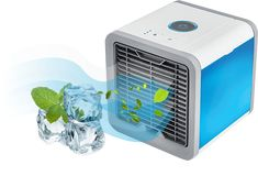CoolAir - Portable Personal Air Purifier, Air Cooler and Air Humidifier in one Ar Fresco, Personal Air Purifier, Travel Specials, Credit Card Statement, Air Humidifier, Mood Light, Ares, Water Tank, Cool Gadgets