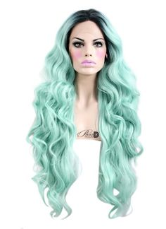 Image of Mint Mermaid Lace Front Wig