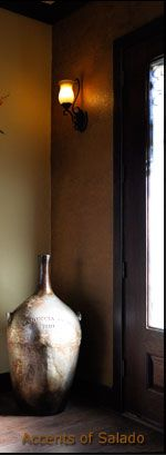 Tuscan Decor Oversized Urns and Floor Vases