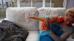 Frozen Elsa Dinosaur Attack Elsa in Big Trouble when sleeping - SO SCARY...
