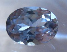 SOLD... 2.6 Carat Oval Light Gray Spinel: Nice Alternative for Engagement Ring, by JuliaBJewelry