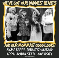 Parents' Weekend. @Kate McCormick are you seeing all these tshirt ideas? Tag team designing these at some point?