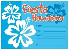 Invitaciones Luau Para Imprimir Gratis Convite Festa Imprimir