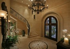 Beautiful entry and foyer | Tom Harper Photography, Inc.  ᘡղbᘠ