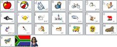 Drukbare bladsye (printables) « My klaskamer – idees en gedagtes uit 'n juffrou se pen Teaching Posters, Teaching Tips, Afrikaans Language, Alphabet Activities, Home Schooling, Kids Education, Child Development, Kids Learning, Literacy