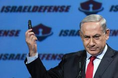 """Israeli Prime Minister Benjamin Netanyahu during his opening speech of the """"CyberTech international conference on January (A. Benjamin Netanyahu, New World Order, United Nations, Cyber, Shit Happens, January 27, Prime Minister, Conference, War"""