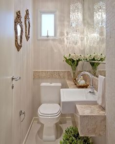50 Amazing Small Bathroom Remodel Ideas Is your home in need of a bathroom remodel? Here are Amazing Small Bathroom Remodel Design, Ideas And Tips To Make a Better. Bathroom Interior Design, Interior Design Living Room, Living Room Designs, Bath Decor, Bathroom Inspiration, Small Bathroom, Bathroom Ideas, Small Toilet Room, Modern Bathrooms