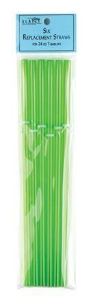 Slant Package of 6 Replacement Straws for 24 Oz. Cups w/Lid & Straw by Slant. $8.00. Replacement Straws