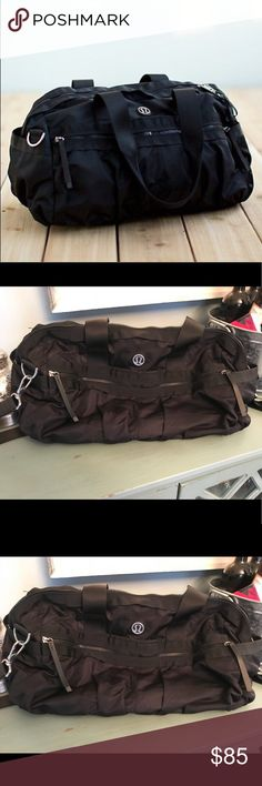 See more. Lululemon duffle bag black so many pockets If you re like me  you re 7f3cb54d5f290