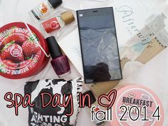 Spa Day In | Gloomy Fall Days
