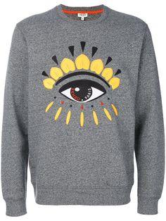 03d28a08ed0c KENZO Eye Sweatshirt.  kenzo  cloth  sweatshirt Shirt Jacket, Luxury  Fashion,