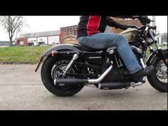 Auspuff Sounds: Harley-Davidson Sportster 48