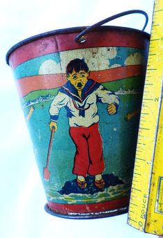 Old sand pail