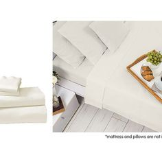 ------🛍 LAY DOWN FOR LESS 🛍-------  Cotton microfibre 1000TC 4pc Queen sheet set – Ivory 19 IN STOCK  FEATURES:  Correct Australian Queen Size Queen Flat Sheet (274x245cm) Queen Fitted Sheet (203x152cm)    #mattressoffers #sheetset Textile Manufacturing, Bed Sheet Sets, Flat Sheets, Queen Size, Fabric Weights, Mattress, Pillow Cases, Ivory, Luxury