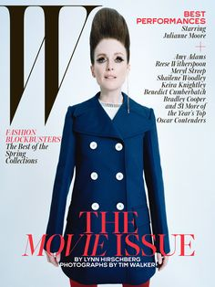 Best Performances February 2015: See All 7 W Magazine Covers - Julianne Moore