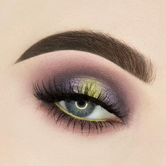 New look using @anastasiabeverlyhills prism eyeshadow palette and @nyxcosmetics_canada vivid brights liner in vivid escape. #anastasiabeverlyhills #abh #abhprism #prismeyeshadowpalette #beautybypaisley