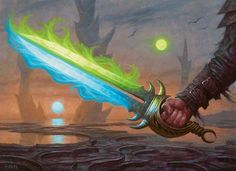 Sword of Body and Mind Art by Chris Rahn