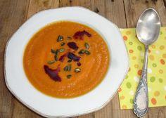 Marokkanische Kürbis-Karottensuppe