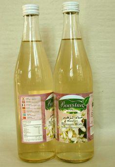 Orangenblütenwasser 4 Flaschen je 500 ml.