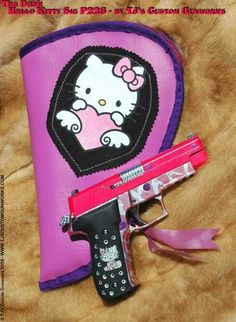 :hello kitty gun