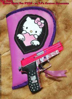 :hello kitty gun