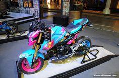 Honda MSX & Honda Rebel dressed in Motorbike Idea Challenge 2017