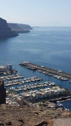 Puerto de Mogán en Las Palmas de Gran Canaria, Canarias