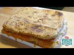 In this video my friend James and I return to make a giant grilled cheese. Giant Food, Sweets, Bread, Cheese, Cake, Recipes, Guys, Goodies, Mudpie