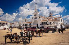 Horse town of El Rocio - Spain