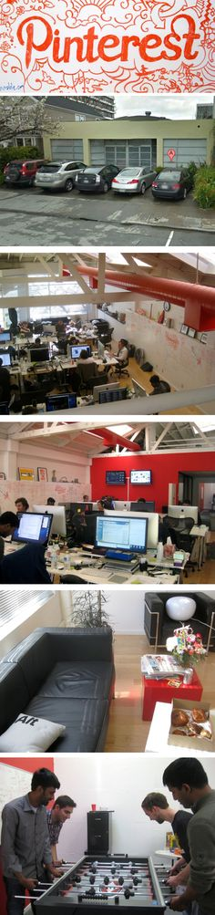 Ever wonder what the Pinterest offices actually look like? We take a behind the scenes look at Pinterest HQ in Palo Alto.