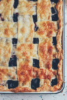 Bing Cherry Slab Pie | Brooklyn Supper