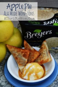 BREYERS APPLE PIE A