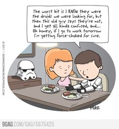 Stormtrooper had a bad day.