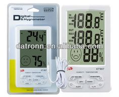 Alert Electronic Digital thermometer and humidity meter KT907