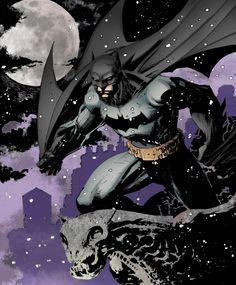 Batman: Snow by LazerBat