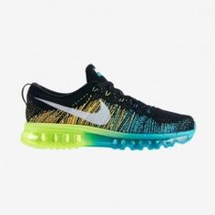 check out fccf0 58073 Homme Nike Air Max 2014 II Mesh Cyan Noir Orange Bleu UAbH New Nike Shoes,