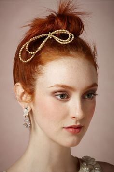 Strand of Pearls Comb from BHLDN
