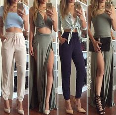 I love these outfits