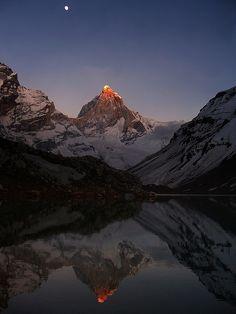 Kedartal, in Garhwal Himalayas, India.  By Lopamudra.