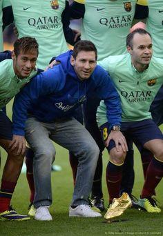 "Love him Leo ""THE KING"" Messi"