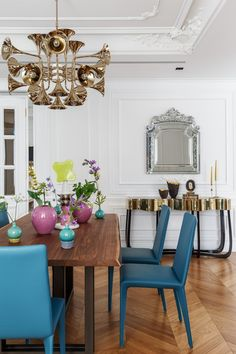 BOCA DO LOBO: Modern Design project enhancing the Fren . Top Interior Designers, Luxury Interior Design, Interior Design Inspiration, Top Designers, Design Ideas, House Paint Interior, Home Interior, Modern Interior, Living Room Trends