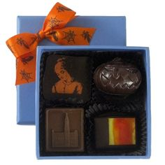4pc Halloween chocolate by CocoaBella